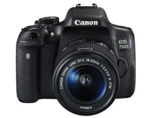 Canon EOS 750D + EFS 18-55 IS STM