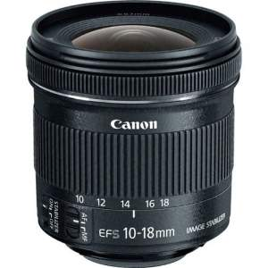 Canon EF-S 10-18 mm f4.5-5.6 IS STM