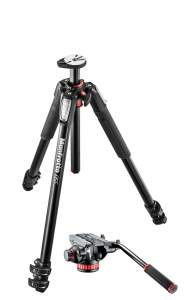 Manfrotto Statyw MT055XPRO3 z głowicą video 502AH