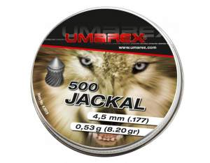 Umarex Śrut diabolo Jackal Pointed Ribbed 4,5 mm 500 szt.