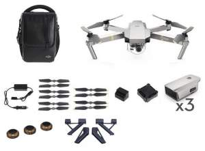 DJI MAVIC PRO Combo Platinum + PolarPro Landing Gear + 3Pack ND8/16/32